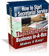 Secretarial Service Book